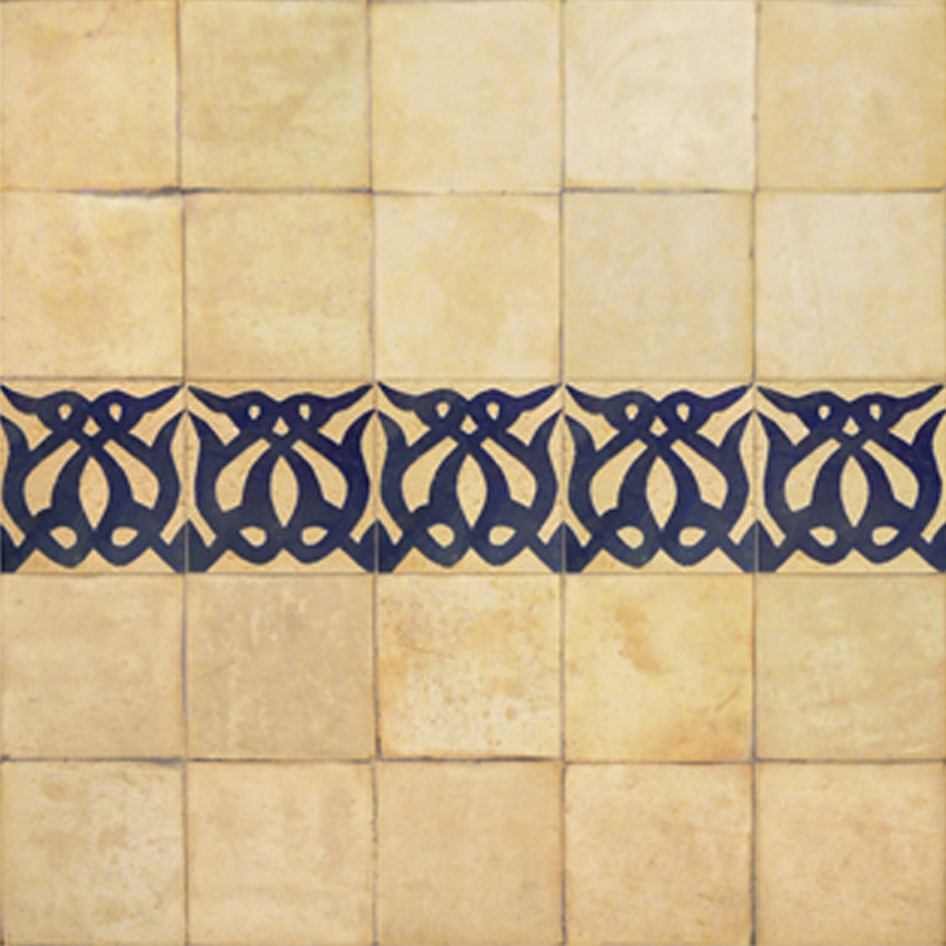 Mosaic House Moroccan tile Amelie 15 Chiseled 