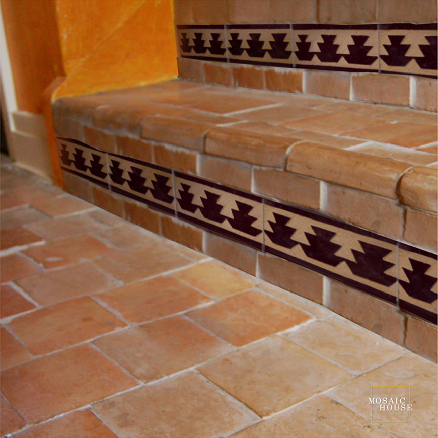 Mosaic House Moroccan tile Edith 6 Chiseled