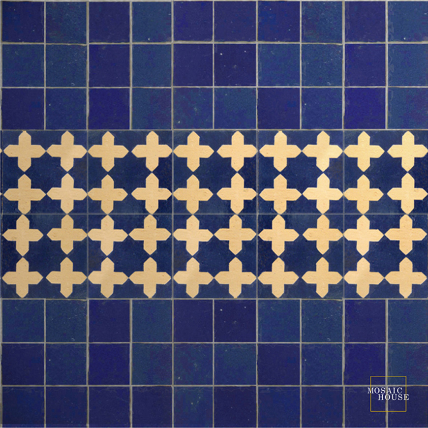 Mosaic House Moroccan tile Latef 15 Chiseled