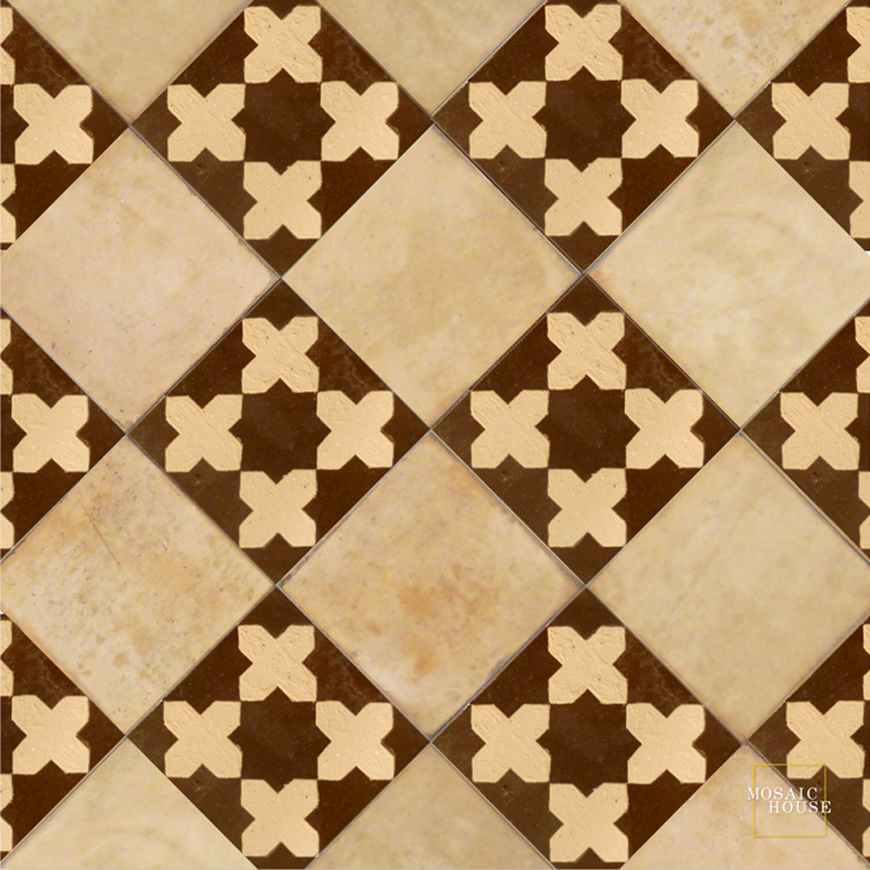 Mosaic House Moroccan tile Latef 19 Chiseled