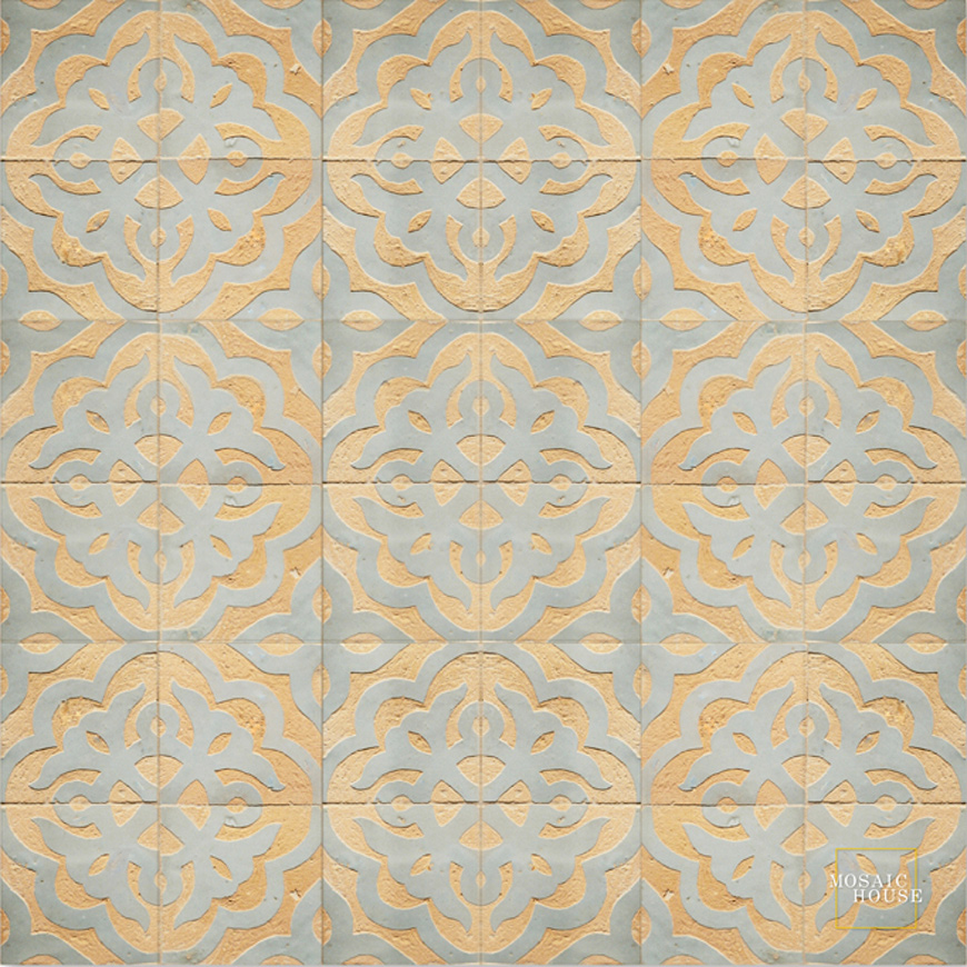 Mosaic House Moroccan tile Sophie 17 Chiseled