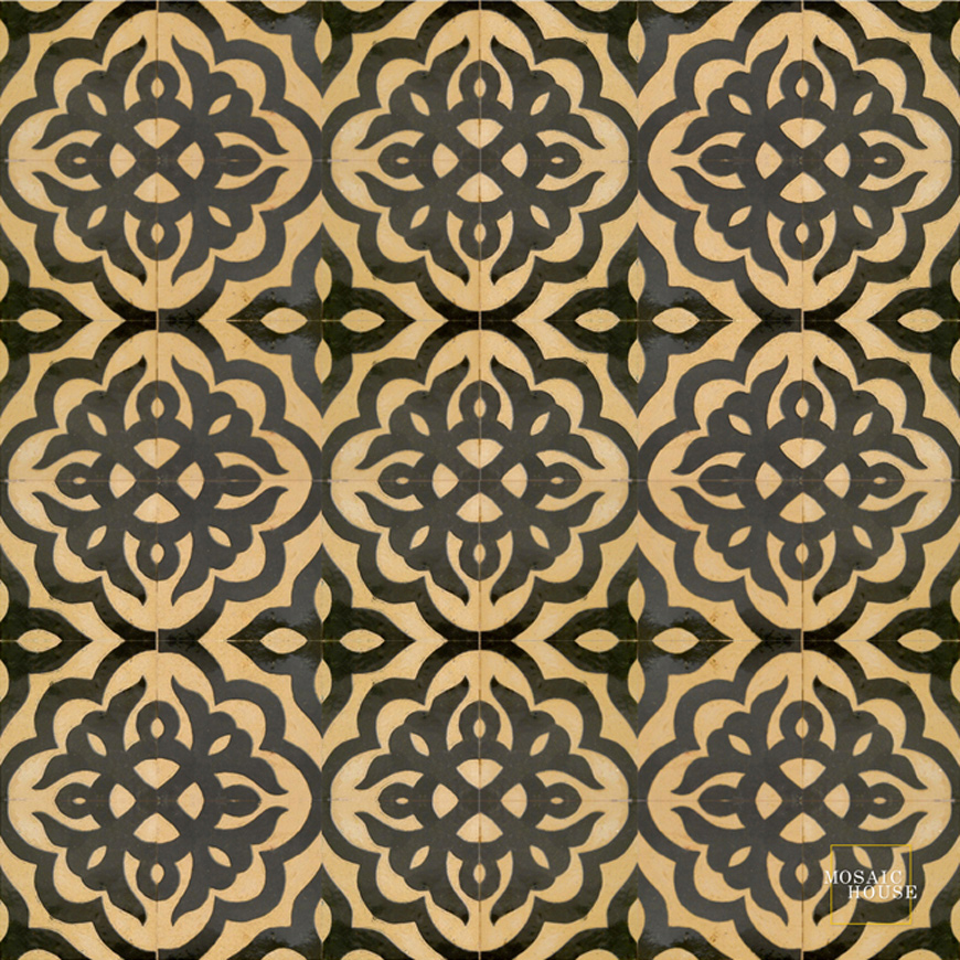 Mosaic House Moroccan tile Sophie 6 Chiseled