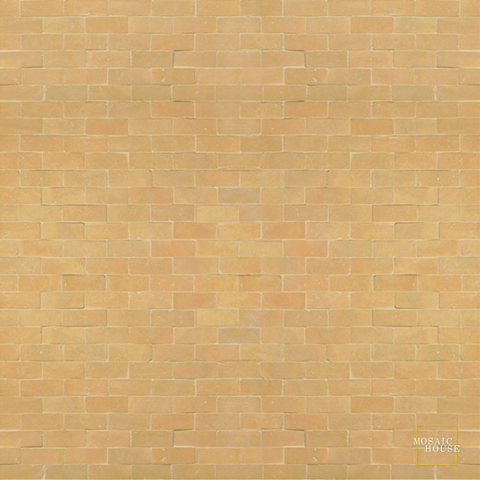 Mosaic House Moroccan tile Breeze 14 Natural, Unglazed, Terracotta  solid zellige, mosaic, zellij, field, pattern, glaze