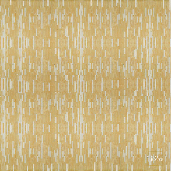 Mosaic House Moroccan tile Linear 14-1 Natural, Unglazed, Terracotta White  zellige, mosaic, zellij, field, pattern, glaze
