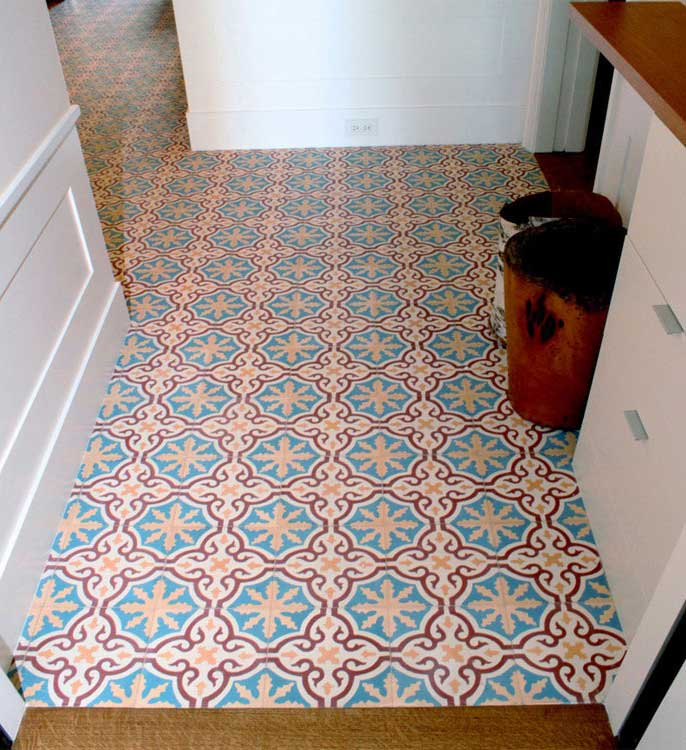 Cynthia J Wright Architecture moroccan mosaic tile