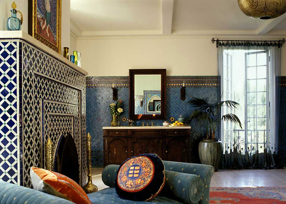 Chris Barrett Design moroccan mosaic tile
